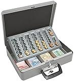 Wedo 149100812 Geldzählkassette Maxi (pulverbeschichtetes Stahlblech, mit...