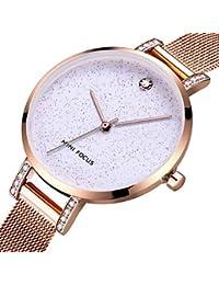 relojes de mujer, MINI FOCUS Mujer Reloj de Pulsera Cuarzo 30 m Resistente al Agua