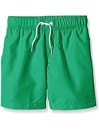 Miami Beach Swimwear Jungen Badeshorts in Unifarben