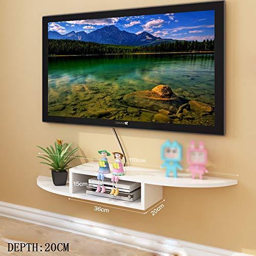 QiXian Set-Top-Box Regale Tv-Schrank Tv-Wandregale Wohnzimmerwand Trennwände Wandregal (Mehrere Stile Verfügbar) Wandkunst, w Vesa-basis