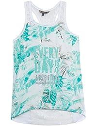 B-KARO Bleach Lagune, Camiseta sin Mangas para Niñas