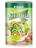 Veganes Salatdressing mit Kräutern und Citronensäure. Kein Essig notwendig 200g/1,2 Liter. Schnell zubereitet, vielseitig einsetzbar. MAISTRO Salatfein