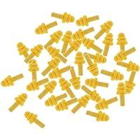 dailymall 20 Paar Gehörschutz Ohrstöpsel Lärmschutz zum Schlafen - Gelb