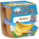 Nestlé naturnes banane 2x115g dès 4/6 mois - ( Prix Unitaire ) - Envoi Rapide Et Soignée