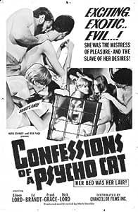 Confessions of a Psycho Cat Poster Movie Affiche du film 11 x 17 Inches - 28cm x 44cm