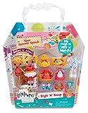 Lalaloopsy Minis Style 'n' Swap Spot Splatter Splash Puppe Puppen (Mehrfarbig, weiblich, Mädchen, 4Jahr (S), 104Jahr (S), Kunststoff)