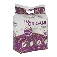 Origami toilet roll 140 sheets 3 ply 4 in 1 (2)