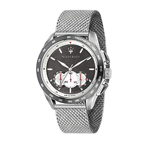 Maserati Reloj Analógico para Hombre de Cuarzo con Correa en Acero Inoxidable R8873612008