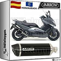 ARROW TUBO ESCAPE RACETECH DARK CARBON-CUP HOM YAMAHA YP T-MAX 500 2010 10 73507AKN