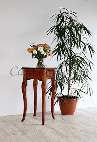 Casa Massivholz Wandtisch kirschbaumfarben Telefontisch Beistelltisch 80x39
