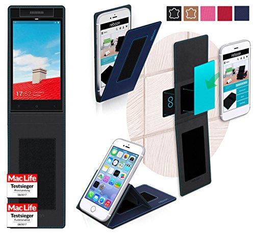 reboon Hülle für Gionee Elife E7 Mini Tasche Cover Case Bumper | Blau | Testsieger