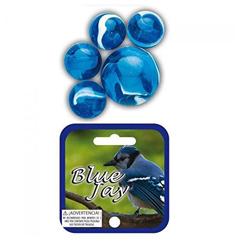 Canica Pajaro Azul