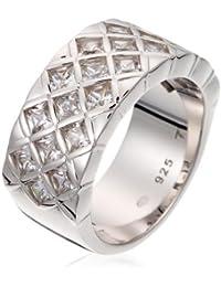 Esprit - Bague - Femme - Argent 925/1000 10.3 gr - Oxyde de Zirconium