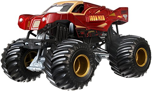 Hot Wheels Monster Jam 1:24 Die-Cast Ironman Vehicle by Hot Wheels
