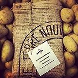 Sacchi per Patate in Iuta da 15 kg di Marca Francese - Bellissimi Sacchi per la conservazione