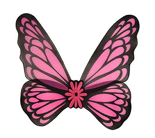 Fancy Ole - Kinder Kostüm Schmetterlingsflügel- Feen- Elfen- -