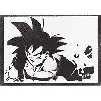 Poster Son Goku Dragon Ball Handmade Graffiti Street Art - Artwork