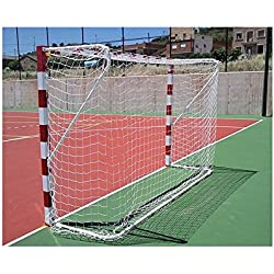 Softee Equipment 0013461 Juego Redes Premium, Blanco, S