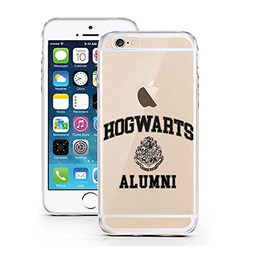 iPhone 7 Hülle von licaso® für das Apple iPhone 7 aus TPU Silikon always HEART Love Herz Liebe Muster ultra-dünn schützt Dein iPhone 7 & ist stylisch Case Design Schutzhülle Bumper Geschenk (iPhone 7, Hogwarts Alumni