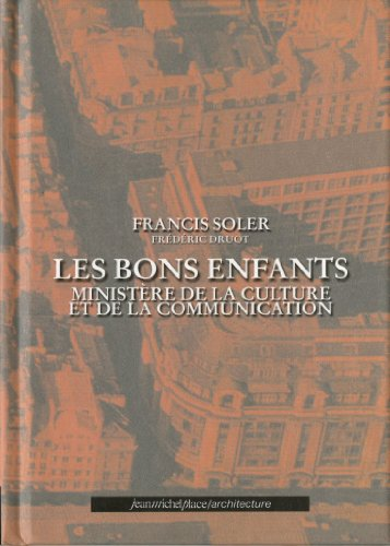 LES BONS ENFANTS: MINISTERE DE LA CULTUR...