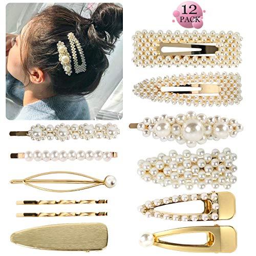 Pearl Hair Clip -...