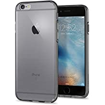 Funda iPhone 6s, SPIGEN® [Liquid Crystal] Protección delgada y claridad Premium para el iPhone 6s / iPhone 6 - Cristal Espacial