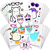 Best Party Favors per i bambini - Wuree 24Pk Make A Unicorn Stickers - Unicorn Review