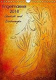 Engelmalerei 2018 Gemälde und Zeichnungen (Wandkalender 2018 DIN A4 hoch): Engelkunst in 13 handgefertigten Engel- und Energiebildern von Marita ... ... [Kalender] [Apr 01, 2017] Zacharias, Marita