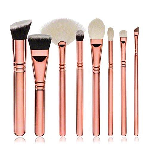8PCS Make-up Pinsel Covermason Rouge Lidschatten Pinsel Bürsten Set Kit Kosmetik