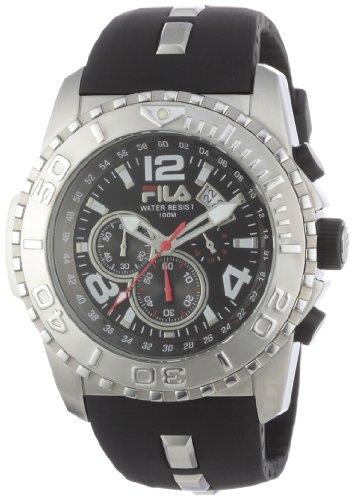 Fila Herren-Armbanduhr XL Abyss Analog Rubber  FA0982-81