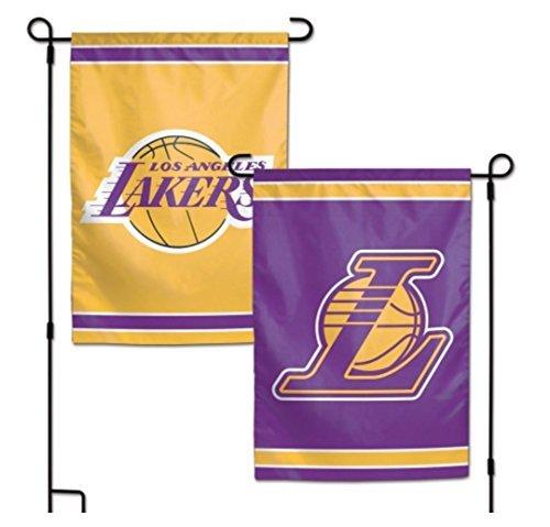 Wincraft Snack-Schale NBA Los Angeles LA Lakers 31,8x 45,7cm Zoll beidseitigen Garten Flagge Logo