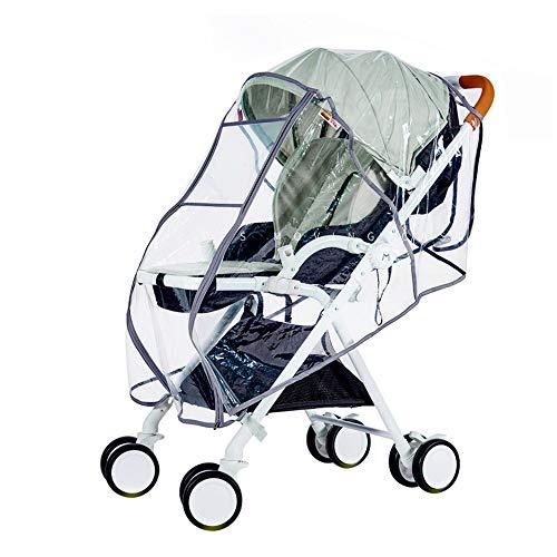 Lykke. Kinderwagen Regenschutz Transparenter Kinderwagen Regenschutz Universal Portable Durable Wind Dust Shield Cover -