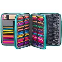 Estuche con 120 ranuras de Homeself para lápices de colores y artículos del colegio, organizador