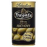 Fragata Anchoas Rellenas Extra Grande Aceitunas En Salmuera (350g)
