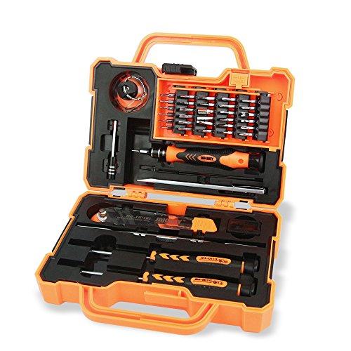 Huatuo®45 in 1 Anti-Drop-Box elektronischen Werkzeug-Set Haushalt Wartung Schraubendreher Set Hardware Tool Kit für Haushalt Handy Laptop Electronics Auto Werkzeug Box Set