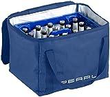 PEARL Getränkekasten-Kühlbox: Isolierte Kühltasche, verstärkter Trageriemen für Bierkästen, 30 Liter (Getränke-Kühlbox)