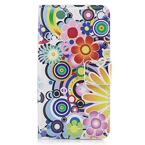Für Samsung Galaxy Wallet Hülle, Premium Klar Design, PU Leder TPU stoßfest, Kartenfächer, Magnetverschluss, Standfunktion Folio Flip Book Case Cover für Samsung Galaxy Samsung Galaxy S9 Plus color 12