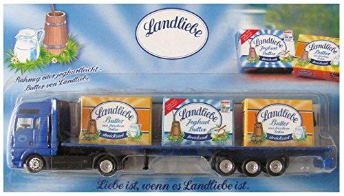 Landliebe Nr.16 - Butter & Joghurt Butter - Man - Sattelzug mit 3 Packungen