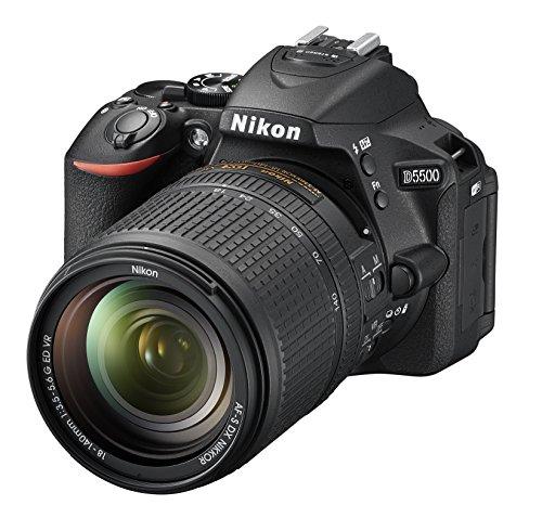 Nikon D5500 + Nikkor 18-140 VR Fotocamera Reflex Digitale, 24,2 Megapixel, LCD...