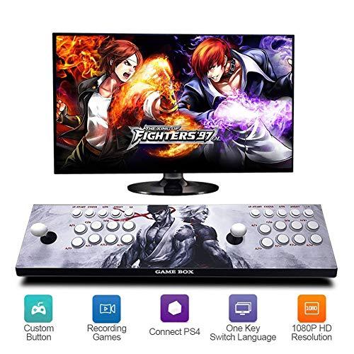Pandora's Box 2448 Retro Games 3D Console Giochi 720P HD Arcade Machine Videogiochi Portatili Console, CPU Avanzata, Alimentazione HDMI e VGA e Uscita USB, Modello ZQ07