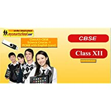 Class XII CBSE Science USB Pendrive Course (Physics Chemistry Maths Biology) with English (core) All Lessons are Interactive Multimedia Video Lessons with multiple Questions on the basis of CBSE Evaluation Blue Print