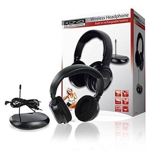 Kabelloser Kopfhörer Funkkopfhörer bis zu 80m