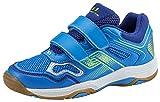 Pro Touch Unisex-Kinder Rebel II Jr. Klett Multisport Indoor Schuhe, Blau (Blue/Navy/Green Lime 000), 36 EU
