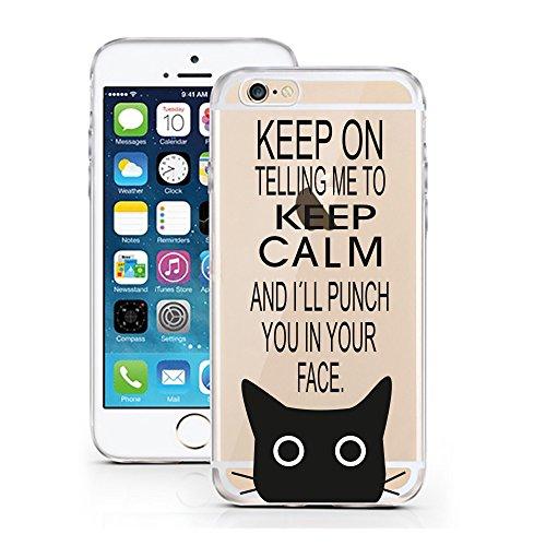 iPhone 6 6S cas par licaso® pour le modèle Don't worry Beyoncé Chanteur la Musique TPU 6 Apple iPhone 6S silicone ultra-mince Protégez votre iPhone 6 est élégant et couverture voiture cadeau I'll Punch you in the Face