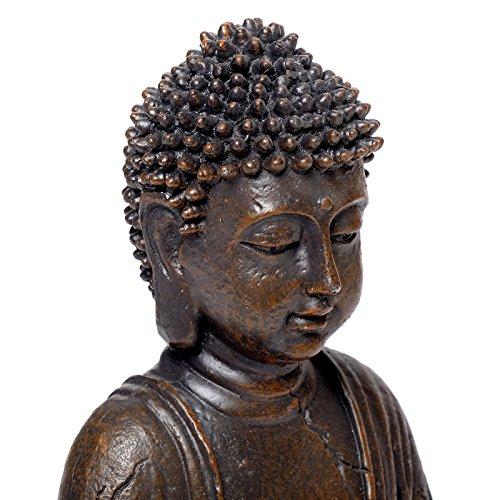 Figura de buda de tailandia de estatua de la decoraci n de la vendimia de decoraci n para el - Figuras buda decoracion ...