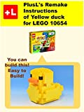 PlusL's Remake Instructions of Yellow duck for LEGO 10654 : You can build the Yellow duck out of your own bricks!