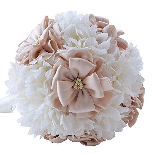 Artificielle Rose Romantique Bouquet De Mariage Fleurs Bouquet De Mariée Demoiselles D'honneur Tenir Des Fleurs De Mariage Fournitures De Vacances Fournitures