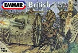 Emhar Plastic Model Kit;World War One British Artillery;Plastic model kit requires assembly and painting.;Glue and paint NOT included.;Made in the UK