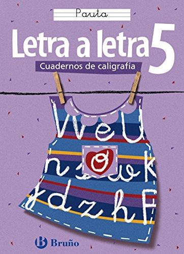Caligrafía Letra a letra Pauta 5 (Castellano - Material Complementario - Caligrafía Letra A Letra) - 9788421634905 por Ramiro Cabello Sánchez