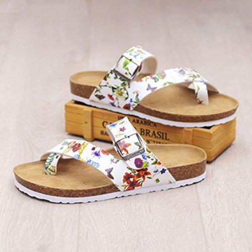 Sandali Ciabatte Eleganti - Infradito Donna - Pantofole a Casa Fiore